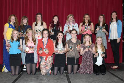Bridgwater netballers scoop awards at presentation night