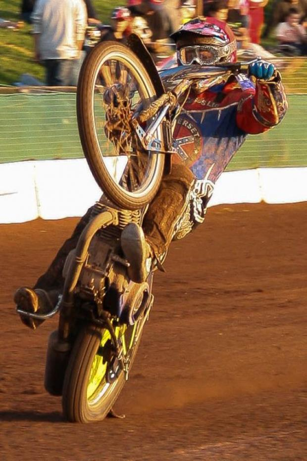 Jason Doyle in action against Plymouth Devils. PHOTO: Colin Burnett
