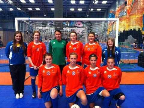 Bridgwater College footballers win South-West Futsal competition