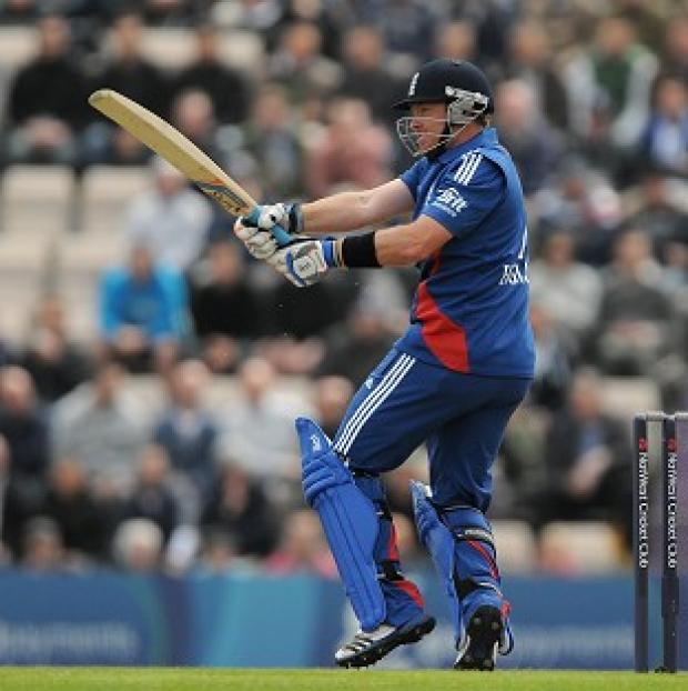 Ian Bell (pictured) has recovered well from the loss of his batting partner Alastair Cook