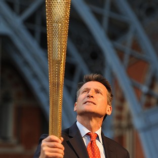 Lord Coe is to carry the Olympic Torch in his hometown, Sheffield