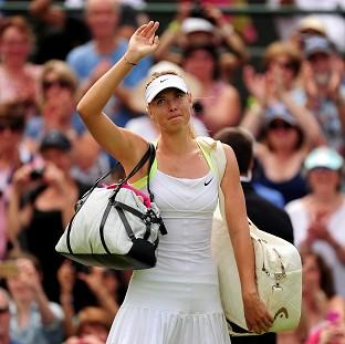 Bridgwater Mercury: Maria Sharapova has made it into the second week of Wimbledon after another victory on Centre Court