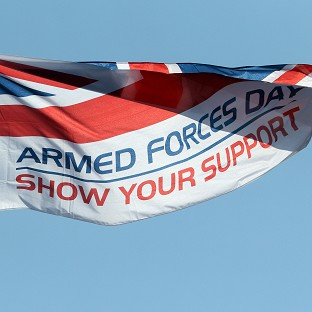 A national event will be held in Plymouth to mark Armed Forces Day