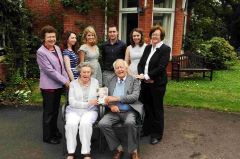 Durleigh's diamond couple celebrate milestone