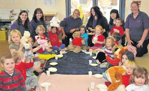 Stowey Bears enjoy a fundraising picnic
