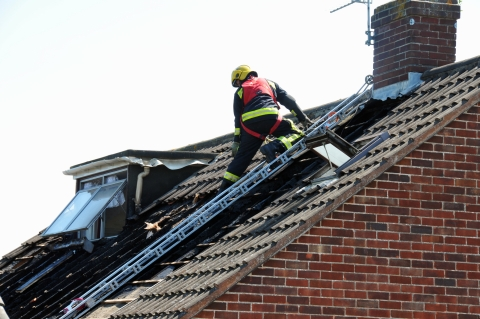 Fire in Holford Road, Bridgwater - with pictures