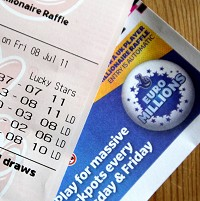 UK ticket scoops £150m EuroMillions