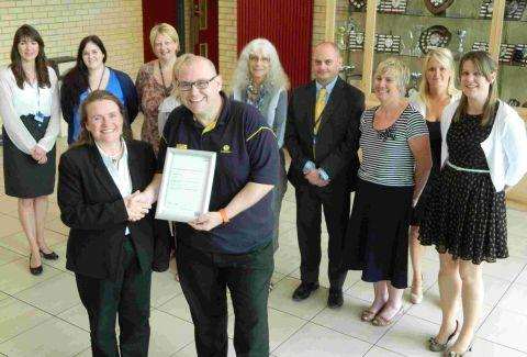 Just the job... Bridgwater College commended for Morrisons employment