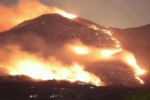 Middlezoy businessman tells of Spain wildfire horror