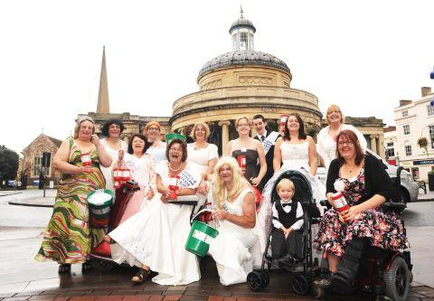 Unbridled passion for fundraising in Bridgwater