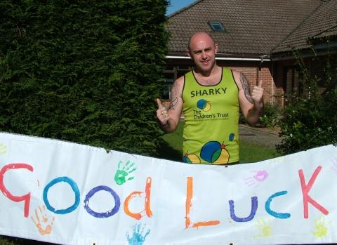 Patrick Bowden, of Bridgwater ASDA, will run three events for The Children's Trust. Photo: Submitted.
