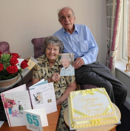 65 years not out for Puriton couple