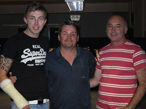 Bridgwater Mercury: Josh Corkett, Oly Bale and Pat Hall
