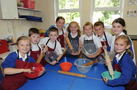 Bawdrip pupils are good mixers, thanks to one good egg