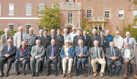 Bridgwater Mercury: These men were among the very first boys to attend Brymore School in 1952