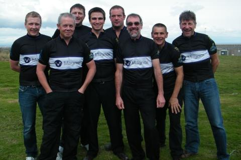 Hinkley A cyclists raising money for children