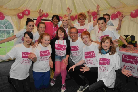 'Gig in the Garden' raises cash for CLIC Sargent