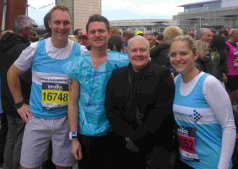 Mother's heartfelt thanks after Bristol Half Marathon effort