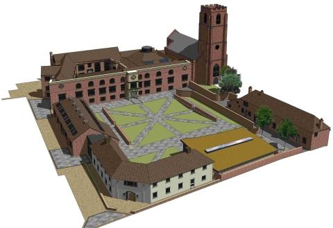 An artist's impression of what the finished project might look like