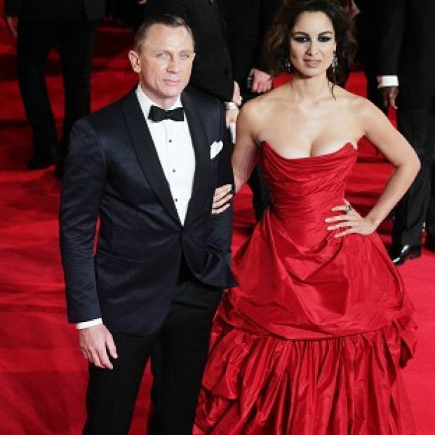 Berenice Marlohe said Daniel Craig was 'shy' about stripping off for their shower scene