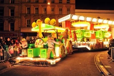 Lime Kiln CC at Bridgwater Carnival 2012