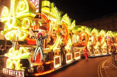 Marketeers CC at Bridgwater Carnival 2012