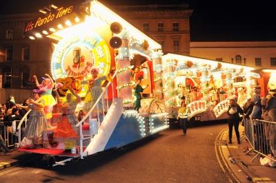 Toppers CC at Bridgwater Carnival 2012