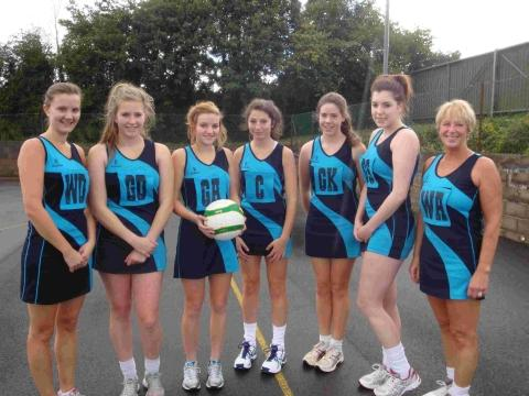 Netball: Bridgwater Venus team picture