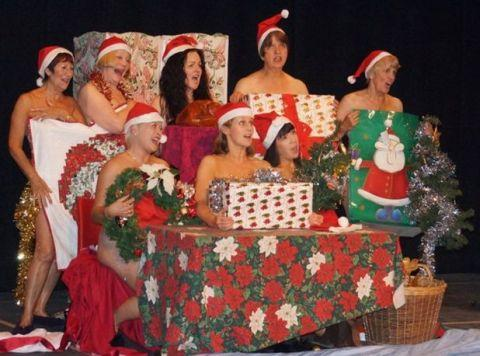 BLAKE Drama Club's cast of Calendar Girls.