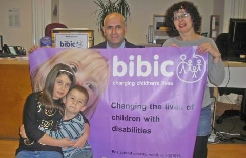 The Carter Family at BIBIC's Knowle Hall outreach centre in Puriton near Bridgwater. Appearing from Left to right: Sally-May Carter, Jamie Carter, Ian Carter and Caroline Carter. Photo: submitted.