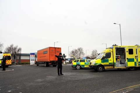 Man, 68, in critical condition following lorry collision in Bridgwater