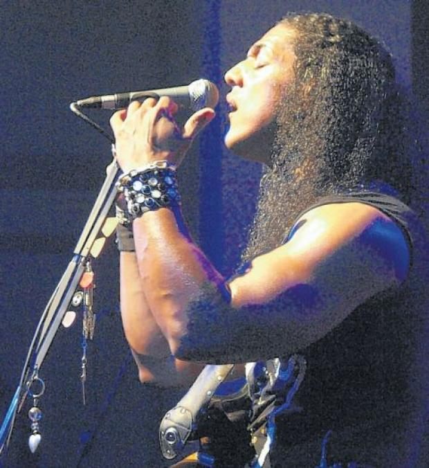 Tribute night to Thin Lizzy at the Bridgwater Arts Centre