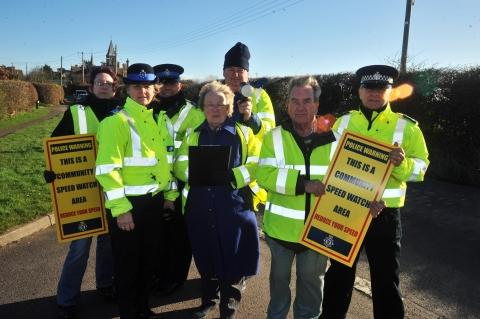 Speedwatch launched for Stogursey, Shurton and Burton