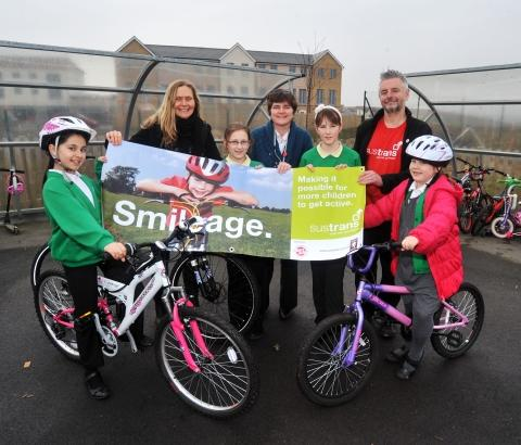 Bridgwater children encouraged to bike to school
