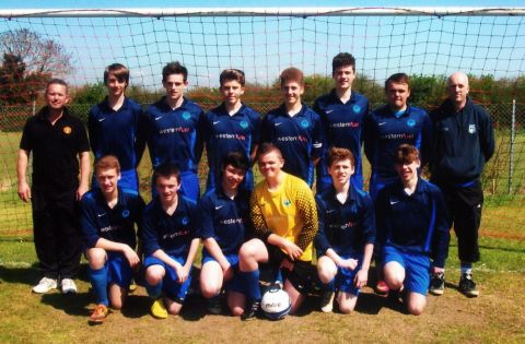 Wembdon under 16s footballers end of era