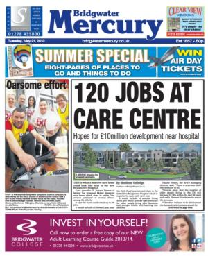 This week's Bridgwater Mercury is out now!