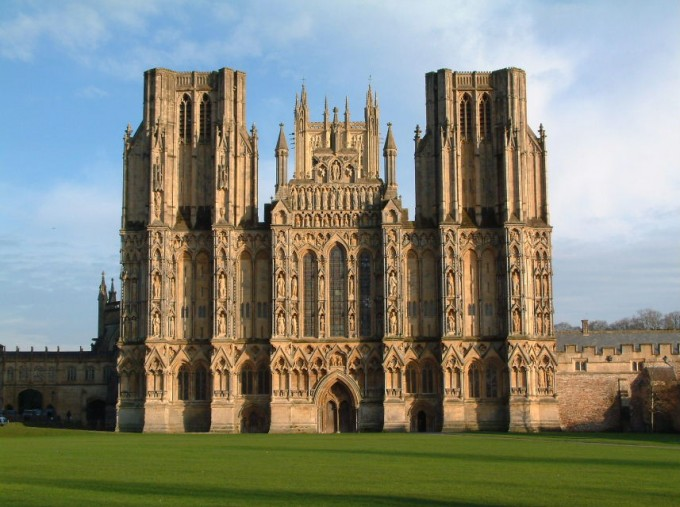Woman falls from Wells Cathedral in Somerset