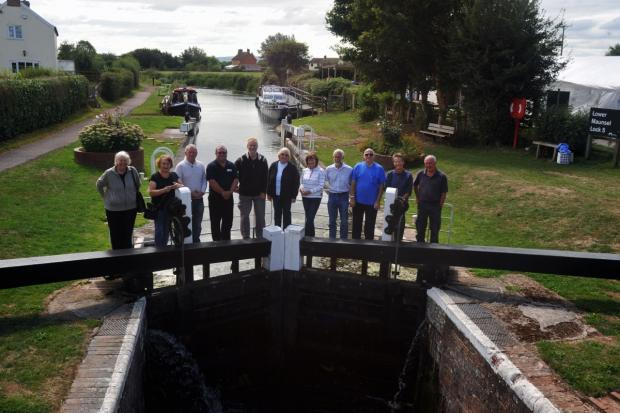 Volunteers supporting plans to revamp the canal. Stock photo.