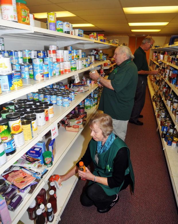 Bridgwater Mercury: The foodbank will be collecting donations in Asda Bridgwater this Saturday and then again next m