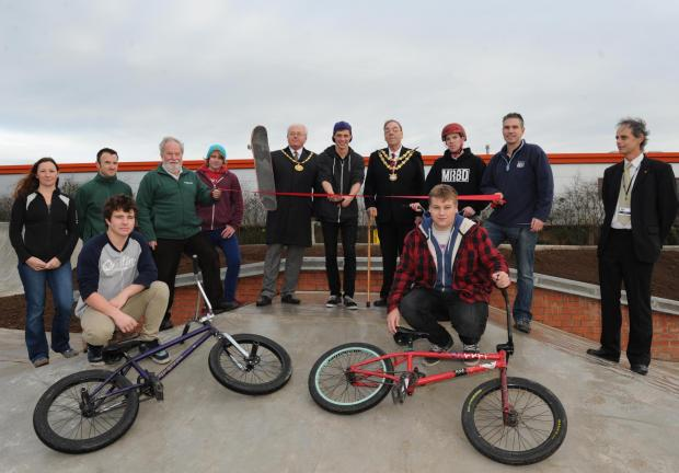 Free event to be held at Bridgwater's new skatepark