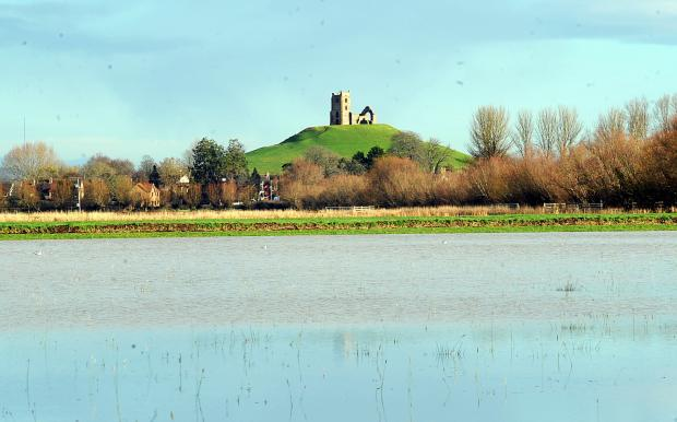 Bridgwater Mercury: Somerset suffered badly from heavy rainfall this winter.