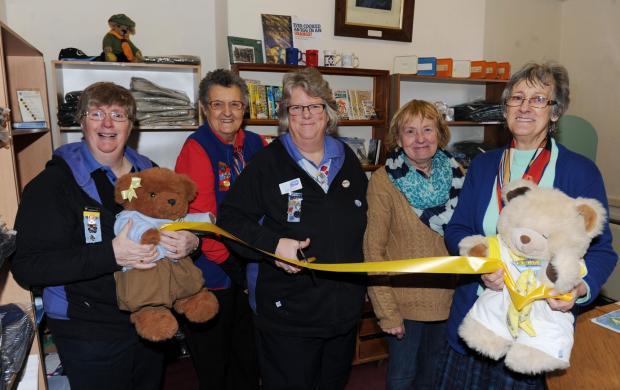 Bridgwater Mercury: The official opening of the Bridgwater Guide and Scout Shop