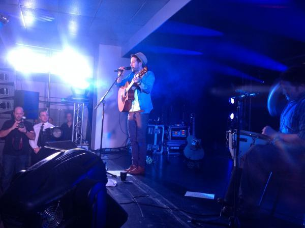 TEASER: Matt Cardle live tonight at Blake Hall, Bridgwater