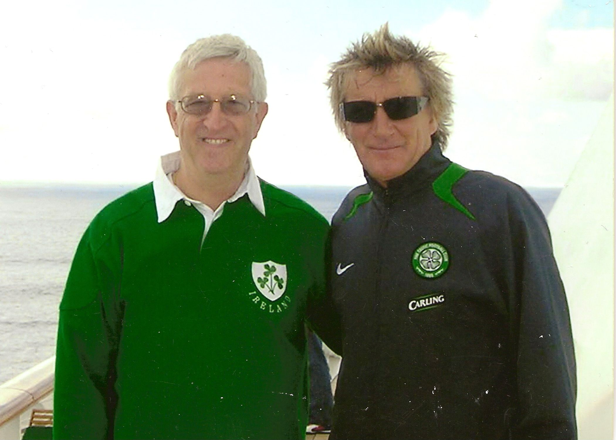 PHOTOS: Rod Stewart and other famous names meet Somerset author