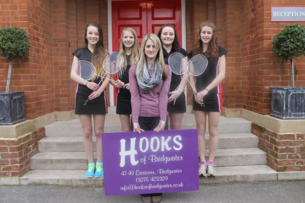 BADMINTON: Haygrove School kitted out for competition