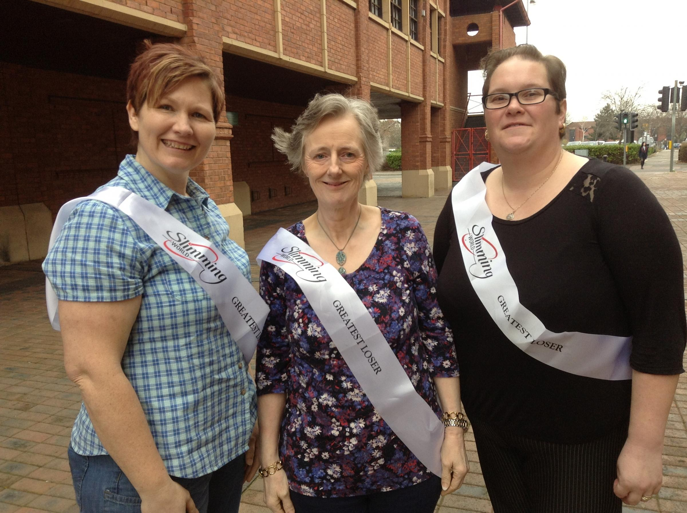 Nichola Temlett, Genine Mathews, and Sharron Griffiths have each been crowned 'greatest loser' after losing over 17st between them.