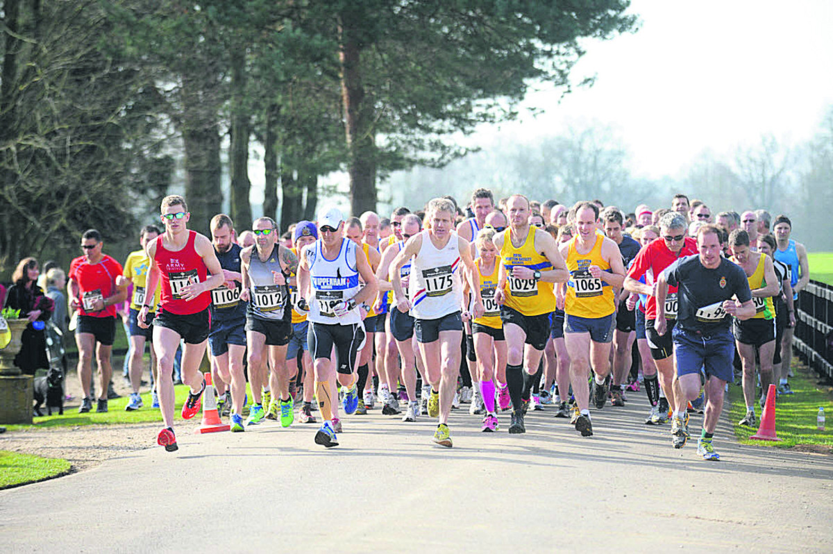 RUNNERS like these will be getting stuck into the race in Bridgwater.