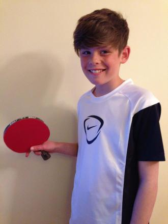 WILL Stokes, 11, represented Somerset in the table tennis championships in Doncaster.
