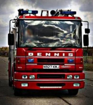 Barn fire in North Petherton