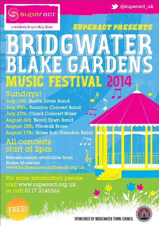 Music festival to be held at Blake Gardens